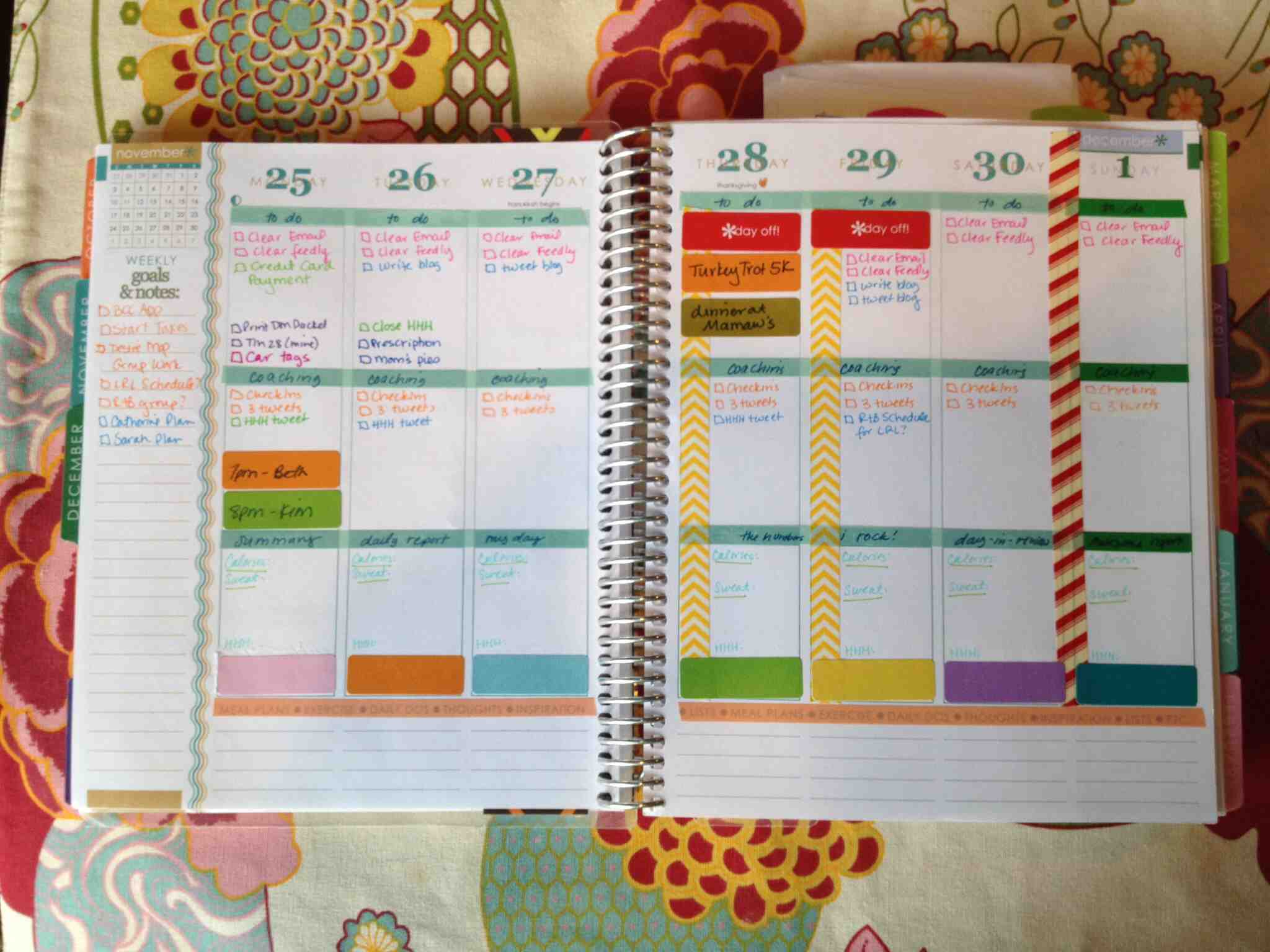Shaking things up in my erin condren planner krissie bentley for How do you use washi tape